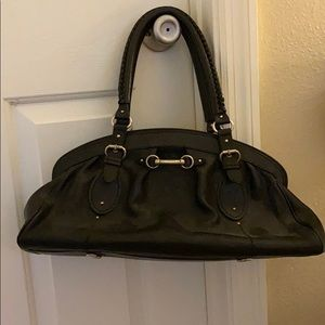 Christian Dior Leather Satchel